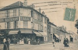 94) VILLEJUIF : La Grande Rue Vers L'avenue De L'Asile (1919) - Villejuif
