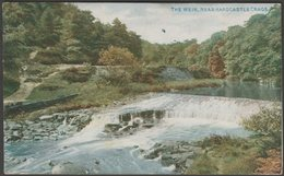 The Weir, Near Hardcastle Crags, Yorkshire, 1913 - Lancashire & Yorkshire Railway Postcard - Other