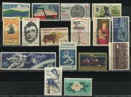 USA - 1967 Lot Of 17 Stamps MNH** - USA67 - Etats-Unis