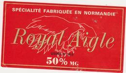 ETIQUETTE DE FROMAGE  ROYAL AIGLE CLAUDEL PONT HEBERT 50 O - Fromage