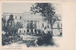 POSTCARD SPAIN ESPAÑA - BADAJOZ - PALACIO MUNICIPAL - Badajoz