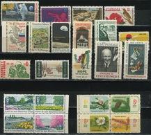 USA - 1969 Lot Of 23 Stamps MNH** - USA69 - Stati Uniti