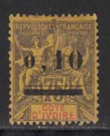 Cote D'Ivoire 1904 Yvert 19 (*) TB Neuf Sans Gomme - Côte-d'Ivoire (1892-1944)