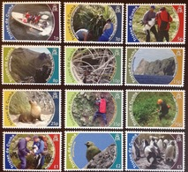 Tristan Da Cunha 2010 Conservation Seals Birds MNH - Tristan Da Cunha