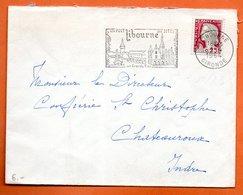 LIBOURNE  SES GRANDS VINS   1964   Lettre Entière N° PP 24 - Annullamenti Meccanici (pubblicitari)