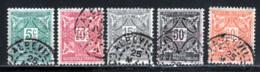 Cote D'Ivoire Taxe 1915 Yvert 9 / 11 - 14 - 15 (o) B Oblitere(s) - Oblitérés