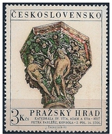 Cecoslovacchia/Czechoslovakia/Tchécoslovaquie: Adamo E Eva, Adam And Eve, Adam Et Eve - Christentum