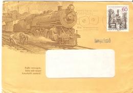 Allemagne Berlin 198? - Enveloppe Commerciale Illustrée - Hermann E. Sieger/Lorch - Cachet Stuttgart Sur 647 - Locomotiv - [5] Berlin
