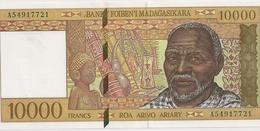 BILLET DE 10000 FRS - Madagascar