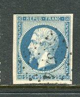 Rare N° 10 Cachet PC 3724 ( Djidjelli - Algérie ) - 1852 Louis-Napoléon