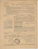 Oblitération Postale Sur Fiscaux - Protet Luche Pringe - Fiscaux