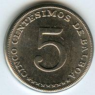 Panama 5 Centesimos 1967 KM 23.2 - Panama