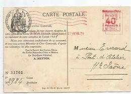 Oblitération Postale Sur Fiscaux - Reçu De Cotisation - Fiscaux