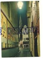 Bruxelles. Petite Rue Des Bouchers, Tour De L'Hôtel De Ville La Nuit. NELS Trimboli. Edit. Thill - Bruxelles La Nuit