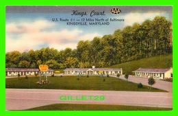 KINGSVILLE, MD - KINGS COURT - PUB. BY MELLINGER STUDIOS - PHTO BY JAMES E. HESS - - Etats-Unis