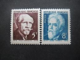 FRANCE N°820 Et 821 Neuf ** - Neufs