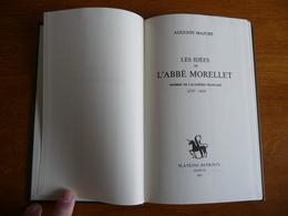 Les Idées De L'ABBE MORELLET (1727-1819) - Libros, Revistas, Cómics