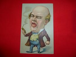 Cartolina Umoristica Nobiluomo Con Sigaro Caricatura - Humor