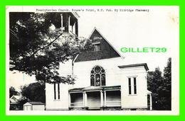 ROUSE'S POINT, NY - PRESBYTERIAN CHURCH - PUB. BY ELDRIDGE PHARMACY - TRAVEL IN 1949 - FAIRBANKS CARD CO - - NY - New York