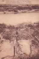 Tombe D'un Soldat Belge Entre Les Deux Lignes - Weltkrieg 1914-18
