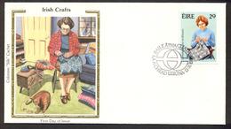 Ireland 1983 - Crafts, Lacemaker, Dentellière, FDC - FDC