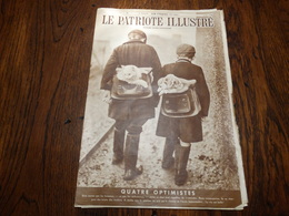 Le Patriote Illustré N°18 Du 05 Mai 1940. - Revues & Journaux