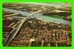 SAVANNAH, GA - EUHENE TALMADGE MEMORIAL BRIDGE - DIXIE NEWS CO - - Savannah