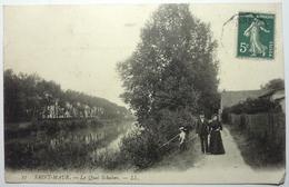 LE QUAI SCHAKEN - SAINT-MAUR - Saint Maur Des Fosses