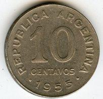 Argentine Argentina 10 Centavos 1955 KM 51 - Argentine