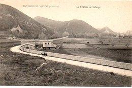 Environs De Viviers Le Chateau De Lafarge Cpa  Neuve - France