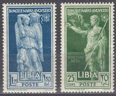 LIBIA (COLONIA ITALIANA) - Lotto Di 2 Valori Nuovi MNH: Yvert 70 E 73, Come Da Immagine. - Libya