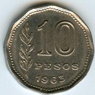 Argentine Argentina 10 Pesos 1963 KM 60 - Argentine