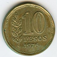 Argentine Argentina 10 Pesos 1976 KM 72 - Argentine