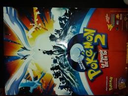 Pokémon 2. Le Pouvoir Est En Toi (recto) Chicken Run (verso). - Affiches