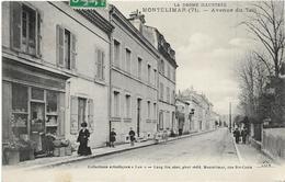 LA DROME ILLUSTREE / MONTELIMAR ( 71 ) AVENUE DU TEIL  / COMMERCE / ANIMATION - Montelimar