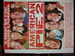 Amercan Pie 2 (recto) Et Hannibal (verso). - Affiches