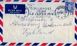 1958 , NORUEGA , SOBRE CIRCULADO , BERGEN - TYSKLAND - Noruega