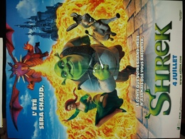 Shrek (recto) Et La Planète Des Singes (verso). - Affiches