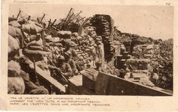 1° Grande Guerra - Tra Le Vedette Di Un Importante Trincea  - - Guerra 1914-18