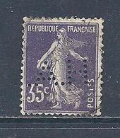 Y & T  N°  142   Perforé  H. A.  2   Ind  6 - France