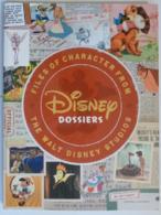 DISNEY - Personnages - Files Of Character - Walt Disney Studio - By Jeff KURTI - LIVRE EN ANGLAIS - Livres, BD, Revues