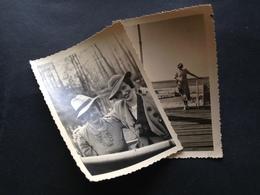 FRAUENMODE DAMALS - OSTSEEBAD CRANZ - 1935 - FREUNDINNEN IN BERLIN - 1936 - Anonyme Personen