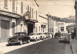 D-19-308 : MARSEILLE. SAINT-HENRI. LE CINEMA L'ALHAMBRA. AUTOMOBILES PEUGEOT CITROËN SIMCA RENAULT - Marseilles