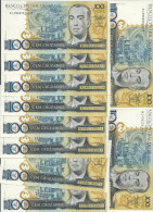 BRESIL 100 CRUZADOS  ND1986-88  UNC P 211 B ( 10 Billets ) - Brazil