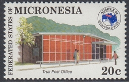 Micronesia 1984 -  The Post Office Of Truk - Mi 24 ** MNH - Micronésie