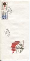 CSSR # 2944-5 FDC. Februar-Umsturz, Nationale Front. Ersttagssonderstempel. - FDC