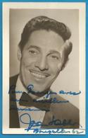 (A924a) - Signature / Dédicace / Autographe Original - Jean SABLON - Auteur, Compositeur - Autographes
