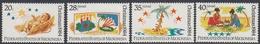Micronesia 1984 - Christmas: Childrens' Paintings - Mi 28-31 ** MNH - Micronésie