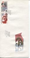 CSSR # 2931-2 FDC. Oktoberrevolution Lenin. Ersttagssonderstempel - FDC