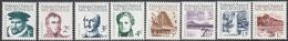 Micronesia 1984 - Definitive Stamps Set To 17c: Navigators And Landscapes - Part Set Mi 5-12 ** MNH - Micronésie